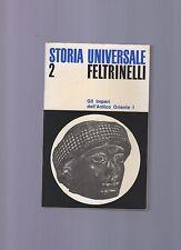 storia universale feltrinelli - volume 2 - gli imperi dell' antico oriente I