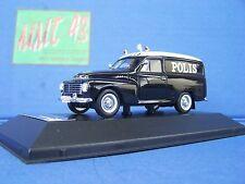 1/43 Police Ixo Volvo P445 Duett Van Police suèdoise