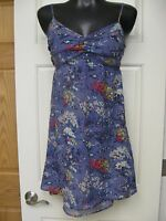 Womens jrs AMERICAN EAGLE purple sundress dress, sz 8