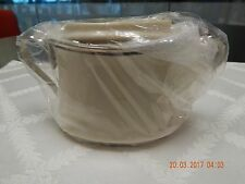 Lenox Solitaire sugar bowl, new, in original plastic wrap