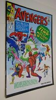 Avengers # 6 Comic Marvel Legends Reprint INTRO ZEMO AND THE MASTERS OF EVIL VG