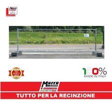 PANNELLO RETE RECINZIONE MOBILE ZINCATO GRIGLIATO CANTIERE 330X100 TEMPORANEA