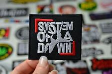 CHOP SUEY System Of A Down Progressive Metal Thrash Music Iron On Patch Patches