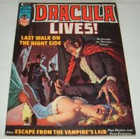 Stan Lee Present DRACULA LIVES # 8 Classic Vampire Horror Cover Comic Magazine