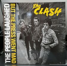 The Clash - The People Laughed But The Press Went Mad LP Live Amsterdam May 1977