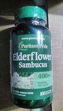 🌸Puritans Pride~Sambucus~100ct~400mg~Supports General Wellness& Immunity Health
