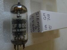 EF800  SIEMENS by TELEFUNKEN <> G  EF80  USED OLD STOCK VALVE TUBE 1PC J17C