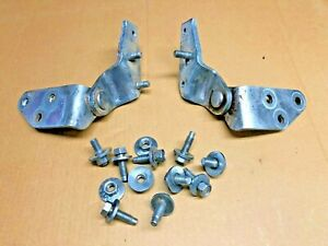 1980-1996 Ford FULLSIZE BRONCO - rear tailgate LOWER HINGES pair LH + RH hinge