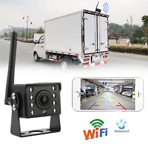 WiFi Wireless Car Truck RV Trailer Rear View Backup Camera CCTV For Android PE