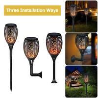 33LED 1.2V Light Control Solar Flame Light Outdoor Waterproof Garden Torch Lamp