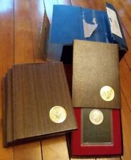 Lot of 5 1971-S Brown Box Ike Eisenhower Proof Silver Dollars in Orignal Mailer!