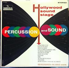 Bob Rosengarden & Phil Krause - Hollywood Sound Stage LP Mint- DL 74184 Vinyl