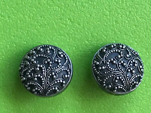Vintage Lois Hill Sterling Silver Clip on Earrings Previously Owned