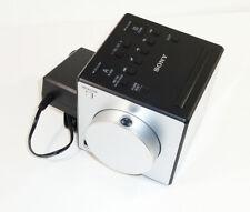 New ListingSony Icf-C1Pj Am/Fm Dual Alarm Clock Radio Nature Sound Time Projection Icfc1Pj