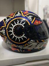 AGV Valentino Rossi Moto GP Helmet. size M/L