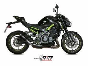 MIVV SILENCER MK3 STEEL BLACK KAWASAKI Z 900 A2 2017-2020