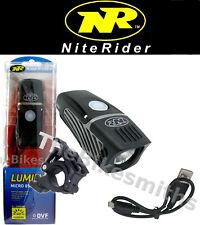 Niterider Lumina Micro 850 Lumens Bike LED Head Light Safe USB Recharge NEW 2019