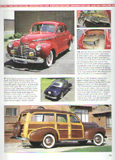 1941 Chevy + Woody Wagon + Pickup Truck Article - Must See !!