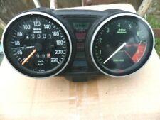 Motorrad BMW R100RT : Zähler (W 691) Drehzahlmesser Komplett Antrieb Messing