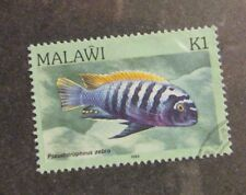 MALAWI  Sc #439 Θ used postage stamp, fish , Fine +