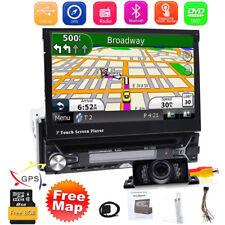 Autoradio Con Navigatore Gps Schermo Touch-Screen Display Bluetooth Usb Sd 1Din