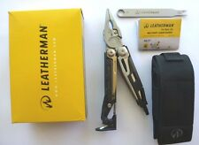 Leatherman Mut Stainless Multi Tool Multitool Knife+Black Molle Sheath Free Post