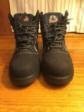 "men's HOWLER ""boots that work"" dark blue steel toecap safety boots US size 10.5"