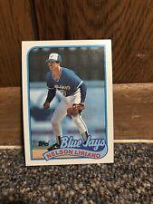 Topps 1989 Baseball Card Nelson Liriano Toronto Blue Jays #776