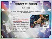 2020 Topps WWE Chrome Wrestling Retail Blaster Box