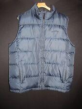 Eddie Bauer Premium Goose Down Navy Puffy Vest Men's TXL G1