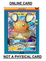 Dedenne GX - 57/214 Unbroken Bonds Ultra Rare PTCGO Online Pokemon Card