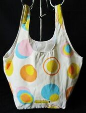 ***UNITED COLORS OF BENETTON BORSA Secchiello a mano BAG in COTONE 100% A pois