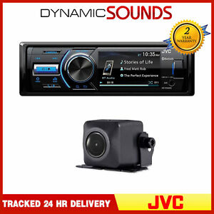 """JVC KD-X560BT Bluetooth Car Stereo 3"""" Monitor With Reverse Camera included"""