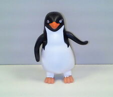 "2006 Waddle Raul Wind-Up 3.25"" Penguin PVC Action Figure Burger King Happy Feet"