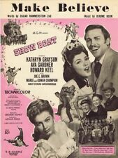 Make Believe, Show Boat, MGM Movie, 1951. vintage movie music