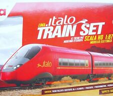Lima HO 1:87 FS NTV ITALO Bullet Train MULTIPLE 4-UNIT High Speed Train Set MIB!