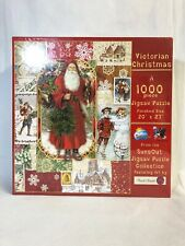 Victorian Christmas 1000 Piece Jigsaw Puzzle Holiday 20x27 Suns Out Punch Studio