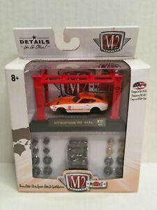 M2 Machines Model-Kit Japan 1970 Nissan Fairlady Z432 Orange White
