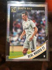 Gareth Bale 2018-19 Panini Donruss Press Proof Die-Cut /10 SSP Real Madrid