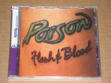 POISON - FLESH & BLOOD - CD + BONUS TRACKS SIGILLATO (SEALED)