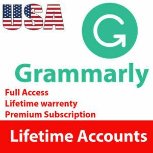 GRAMMAR LY. Premium Account   Lifetime Warranty   INSTANT