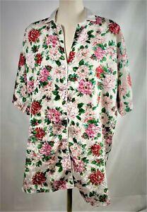 Victoria Secret Women's Sleepwear Petit Small 100% Polyester Floral Pattern