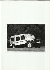 UMM ALTER II 4 x 4 CREW CAB LWB PICK UP PRESS PHOTO 'BROCHURE'