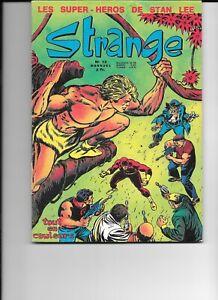 5 12 1970  STRANGE 12 Très rare proche du NEUF plus poster DAREDEVIL  SPIDERMAN