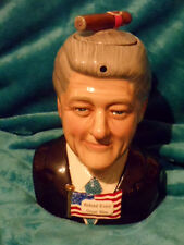 Totally Teapots President Bill Clinton affair  limited edition teapot