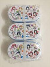 Anime Love Live Sunshine Aqours Lunch Box Storage Box Original Form Japan Gift