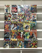 Action Comics Dc 25 Lot Comic Book Comics Set Run Collection Box2