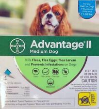 Bayer Advantage Ii 4-Dose Medium Dog Flea Prevention 11-20 lbs