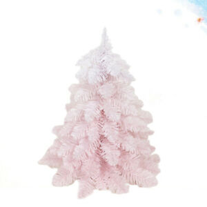 1PC Mini Pink Cherry Blossom Gradient Christmas Tree Unadorned Rattan Christmas