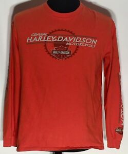 Harley-Davidson Motorcycles Frazier's Buford Georgia Large Long Sleeve T-shirt
